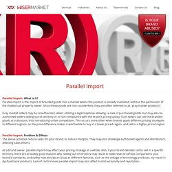 Parallel Import