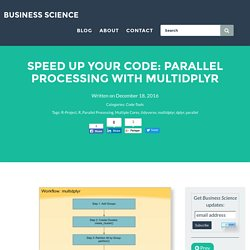 Speed Up Your Code: Parallel Processing with multidplyr