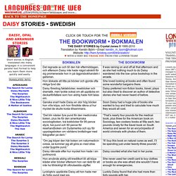 LONWEB PARALLEL TEXTS  SWEDISH - DAISY STORIES - THE BOOKWORM