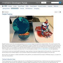 metaio Developer Portal