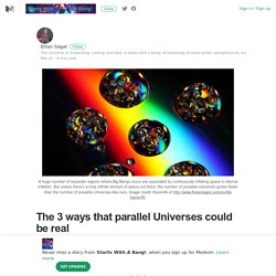 The 3 ways that parallel Universes could be real – Starts With A Bang! – Medium