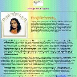 Paramahansa Yogananda, Guru, Meister, Heiliger