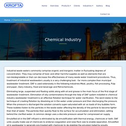 Chemical Industry Parameters