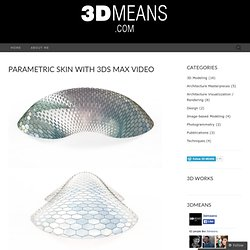 PARAMETRIC SKIN WITH 3DS MAX Video