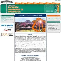 Boletim da Sociedade Paranaense de Matemática (BSPM)