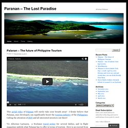 Paranan – The Lost Paradise | All about Palanan