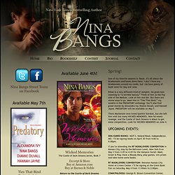 Nina Bangs | Paranormal Romance Author