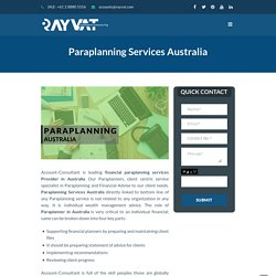 Paraplanning Services Australia