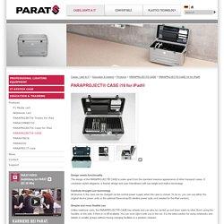 PARAPROJECT® CASE i16 für das iPad® - PARAT