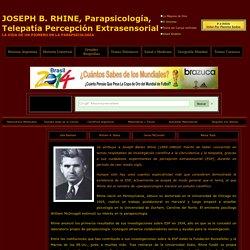 Nacimiento de la Parapsicologia Telepatia Percepcion Extrasensorial Rhine