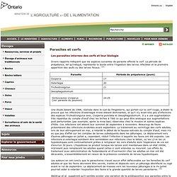 OMAFRA - 2000 - Parasites et cerfs
