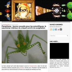 Parasitisme : bonne nouvelle pour les scientifiques, le cauchemar intérieur du criquet survit à la surgélation