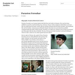 Feminist Art Archive