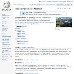 Parc énergétique de Morbach
