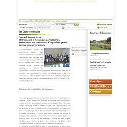 Côtes d'Armor (22)<br>FDCuma 22 / Echanges parcellaires, assolement en commun : S'organiser pour gagner en performance