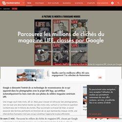 Parcourez les millions de clichés du magazine LIFE, classés par Google