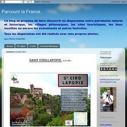 Parcourir la France.