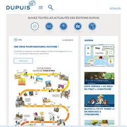 Info, Une frise pour parcourir l'Histoire ! - Editions Dupuis