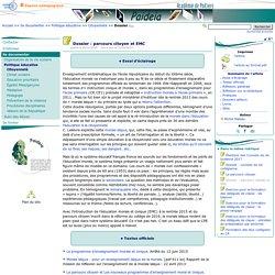 DOSSIER. Parcours citoyen et EMC- Paideia, le site des CPE de l'académie de Poitiers