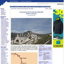 Sport Passion - Parcours vélo : ascension du col et de la cime de la Bonette depuis Jausiers