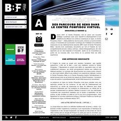 Des parcours de sens dans le Centre Pompidou virtuel