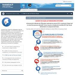 3. L'EMC au cœur du Parcours citoyen - toutatice.fr