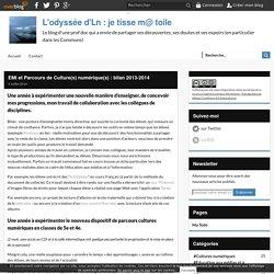 EMI et Parcours de Culture(s) numérique(s) : bilan 2013-2014