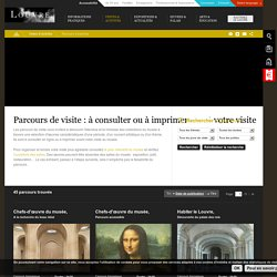 Parcours de visite Louvre