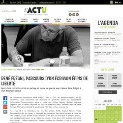 René Frégni, parcours d'un écrivain épris de liberté