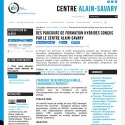 Des parcours de formation hybrides conçus par le centre Alain-Savary