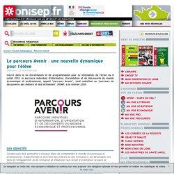 Onisep Le parcours Avenir