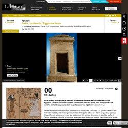 Parcours : Osiris – Un dieu de l'Égypte ancienne