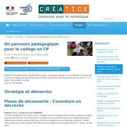 Un parcours pédagogique pour le codage en CP - Créatice