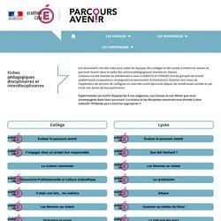 Parcours Avenir - Les ressources de l'académie de Caen