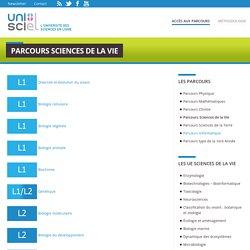 Parcours Sciences de la Vie
