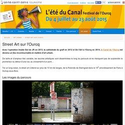 De l'art à l'Ourcq, parcours street art sur le canal