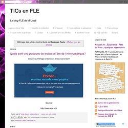TICs en FLE: Parcours Tests