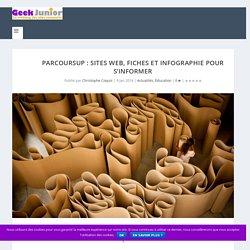 Parcoursup : sites web, fiches et infographie pour s'informer