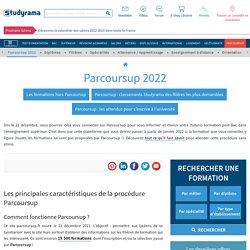 Parcoursup 2021 :calendrier et procédure des inscriptions 2021