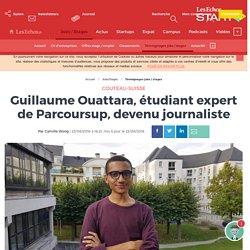 Guillaume Ouattara, étudiant expert de Parcoursup, devenu journaliste