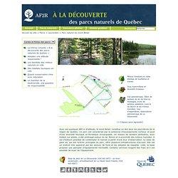 Parcs naturels de Québec