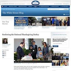 Pardoning the National Thanksgiving Turkey