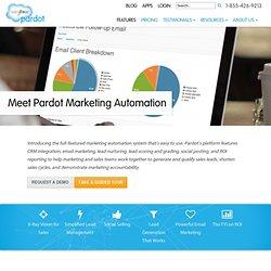 Pardot Marketing Automation
