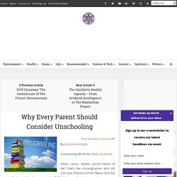Why Every Parent Should Consider Unschooling