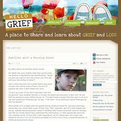 How a Parent's Early Death Can Have an Impact Decades Later | Hello Grief