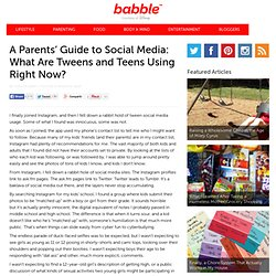 Parent's Guide to Social Media - Babble