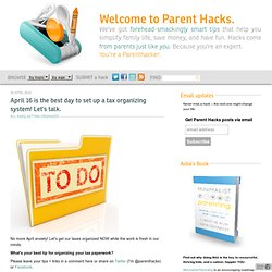 Parent Hacks: Smart parenting tips