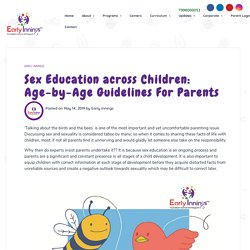 Parental Guide for Children Sex Education