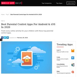 Parental Control Apps for Android & iOS