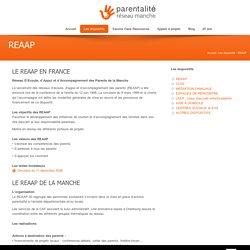 REAAP (Réseau d'Ecoute, d'Appui et d'Accompagnement des Parents) de la Manche